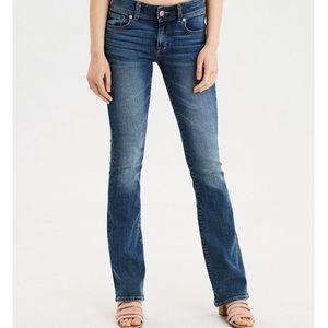 American Eagle stretch slim boot cut jeans
